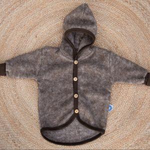 cosilana-wol-fleece-jasje-bruin