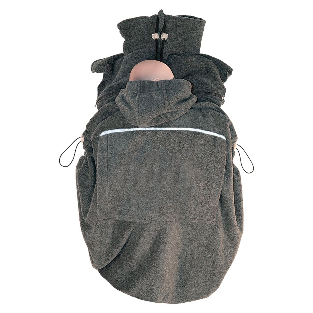 draagcover-fleece-hoppediz-antraciet