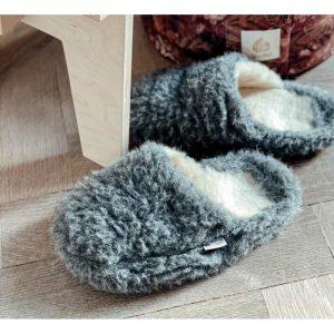alwero-pantoffels-van-wol