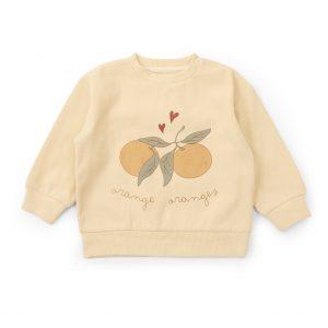 konges-slojd-trui-sweatshirt-apricot